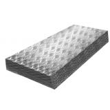 Лист  Амг2Н2Р рифленый «Квинтет» 2x1500x3000
